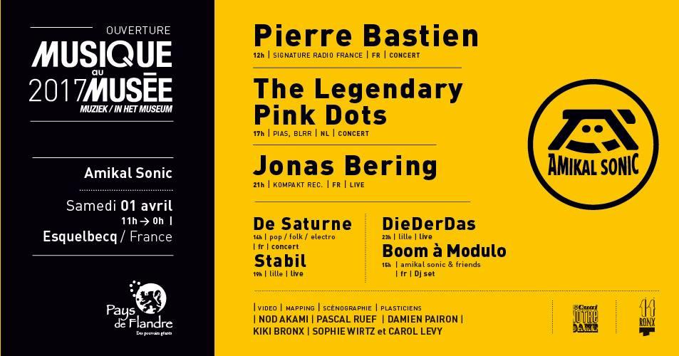 Flyer Musique au Musée en Flandre 2017