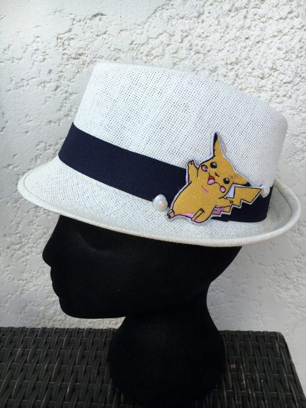 Chapeau enfant pokemon pikachu