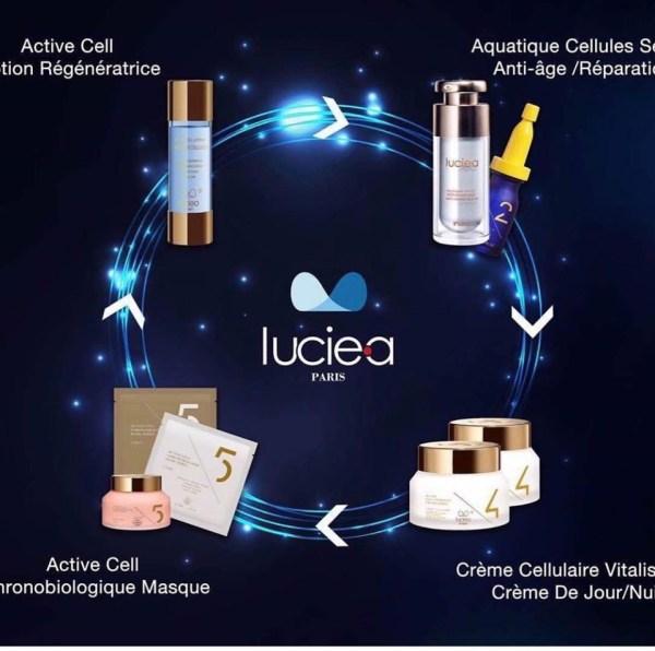 LUCIEA Paris Mask cellulaire chronobiologic usage unique