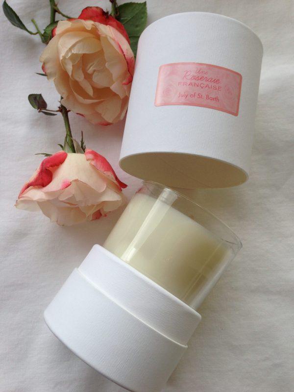 Une Roseraie francaise candle