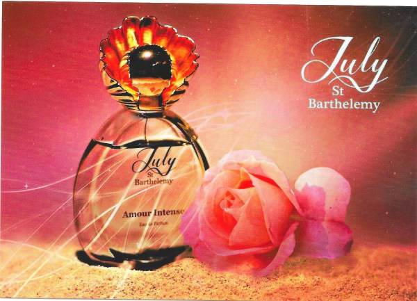Amour Intense - Carte parfumée