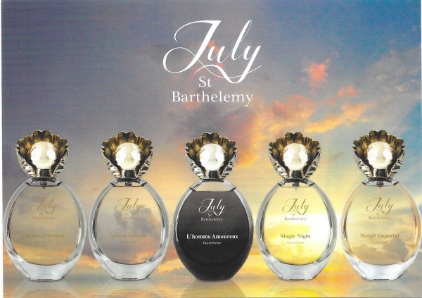 Exclusiv July Of St Barth Postal Card