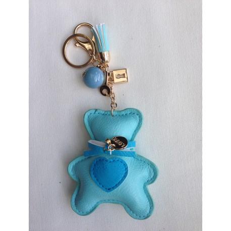 Turquoise key door