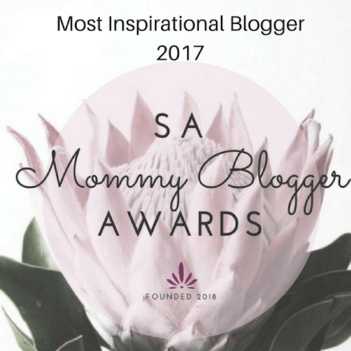 Won the Best Inspirational Blogger Award for 2017