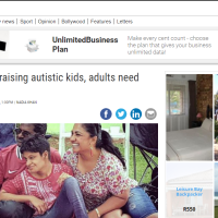 The Post Newspaper Feature - Families raising autistic kids, adults need support
