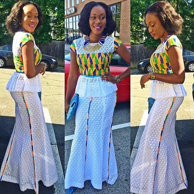 ankara style by @bambi_kay1-amillionstyles