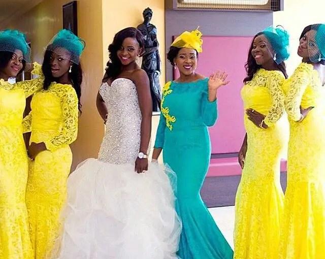 wedding dress yellow-amillionstyles