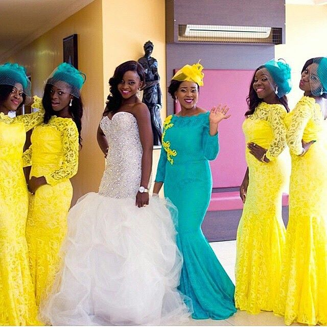 wedding dress yellow-amillionstyles
