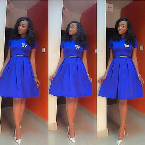 flare dress for church-amillionstyles