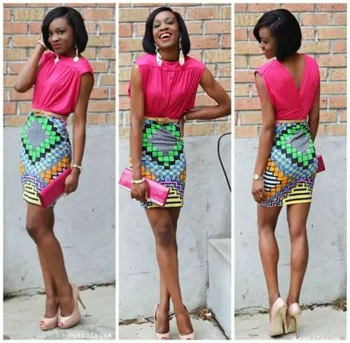 kitenge skirt-amillionstyles
