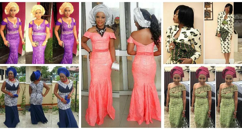 Amazing Asoebi Styles Lace Inspired.