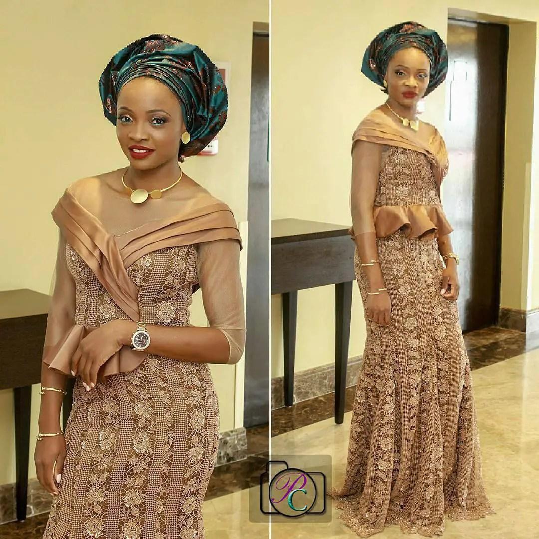 10 Stunning Latest Asoebi Styles For Wedding. | A Million