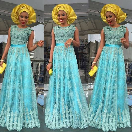 wedding glam for asoebi-amillionstyles1