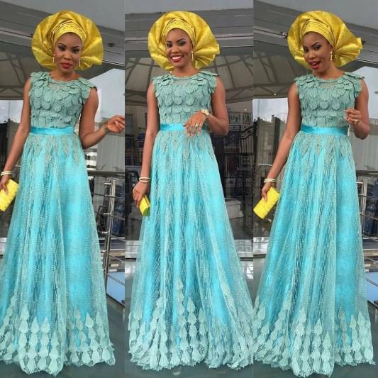 wedding glam for asoebi-amillionstyles1