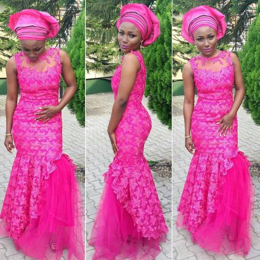 wedding glam for asoebi-amillionstyles8