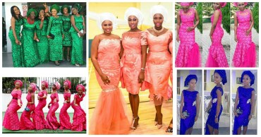 wedding glam for asoebi styles-amillionstyles