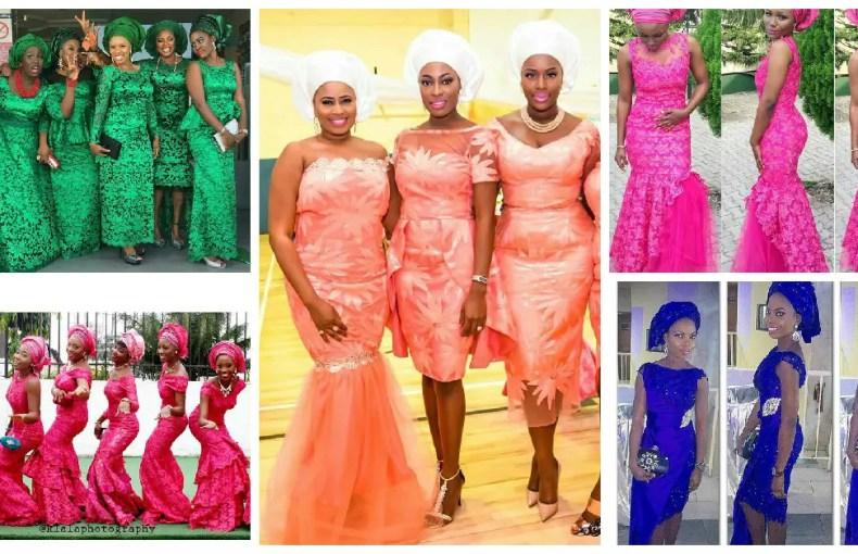 wedding glam for asoebi styles-amillionstyles