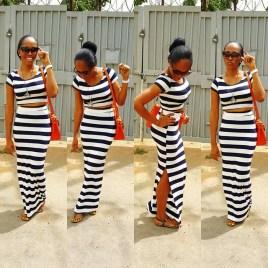 5 Amazing Stripe Dresses In A Million Styles - Yomi Shabi