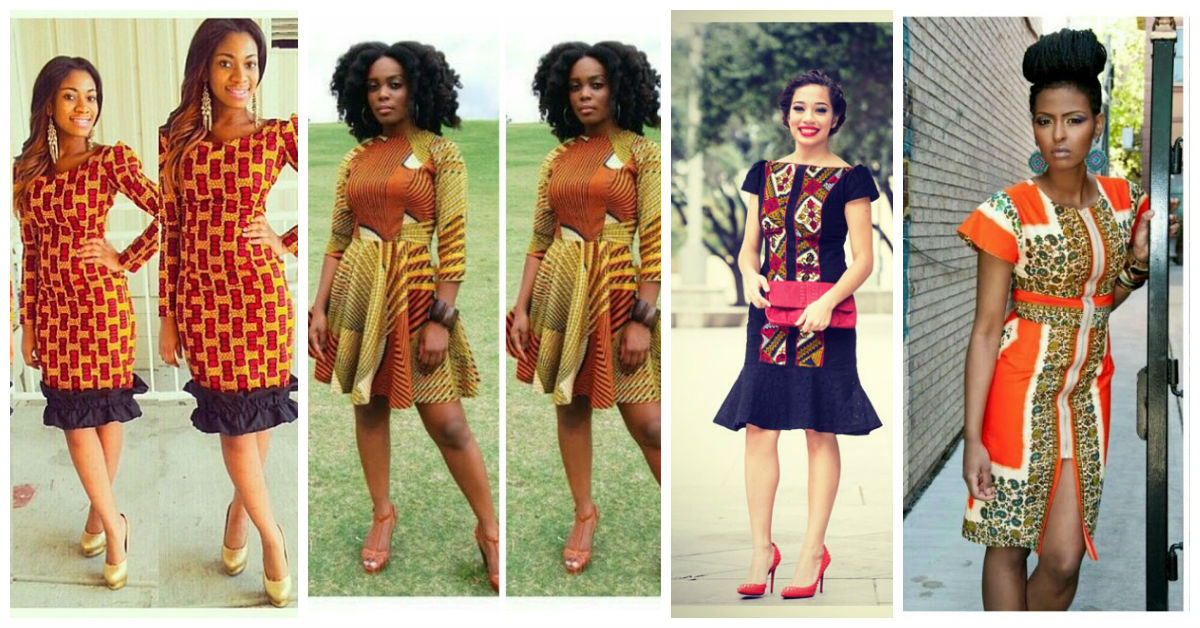 7 Amazing Ankara Short Gown.