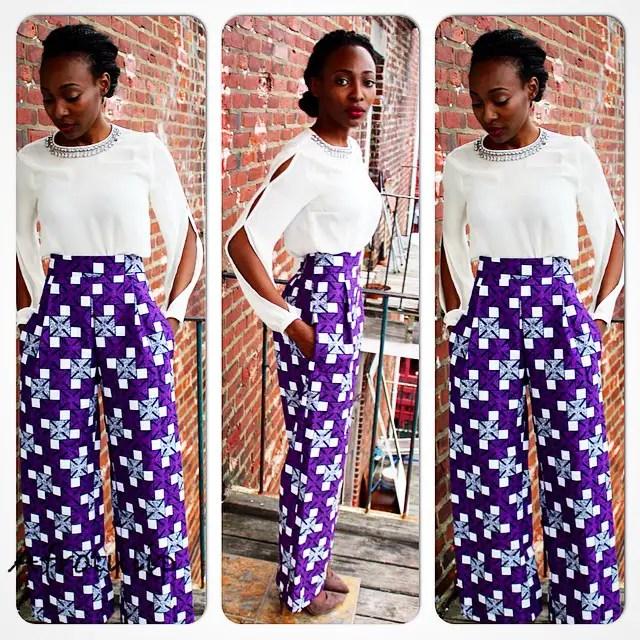 Ankara Styles In Pant Combination @MissMuse__ - AmillionStyles