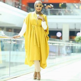 Beautiful Islamic Dresses With Hijab2