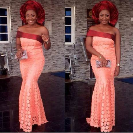 Colorful Aso ebi In Lace Lookbook 10 @emeraldkay