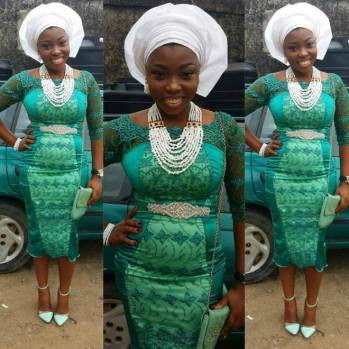 Colorful Asoebi In Lace Lookbook 9 @teejazzzie