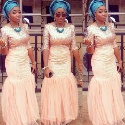 Colorful Asoebi In Lace Lookbook 9 - Amillionstyles2