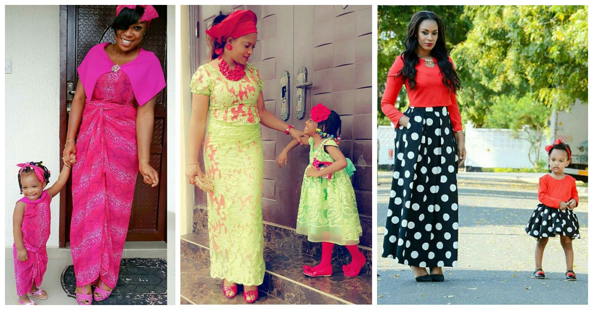5 Awesome Mother and Daugther's Outfit.