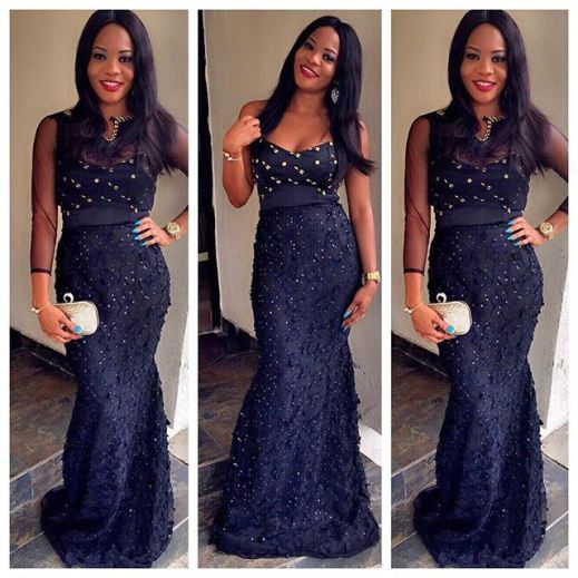 Latest Aso Ebi Styles Lace Inspired lookbook 2 amillionstyles4