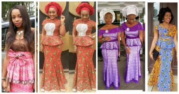 african skirt and blouse styles amillionstyles