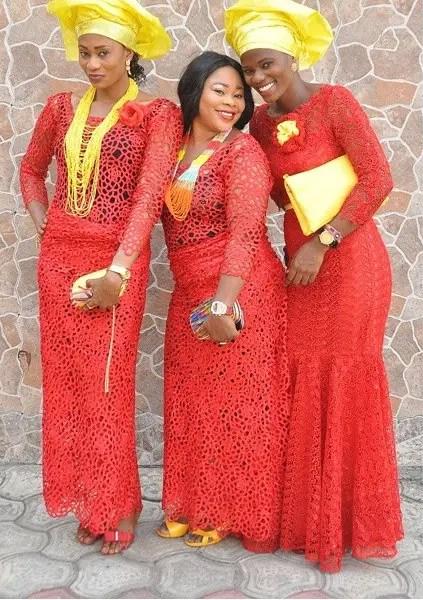 asoebi style in amillionstyles africa