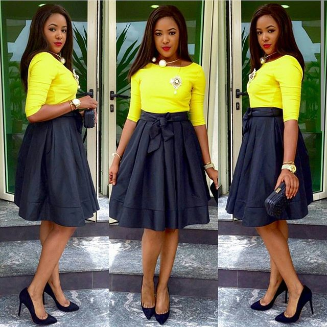 10 Stunning Fashion Outfits For Church | A Million Styles Africa