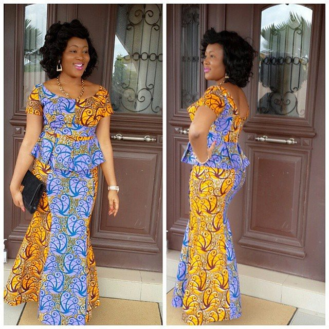 nigerian skirt and blouse designs amillionstyles