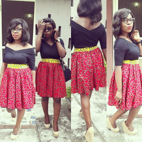 Rocking Ankara In Different Styles @wanade_