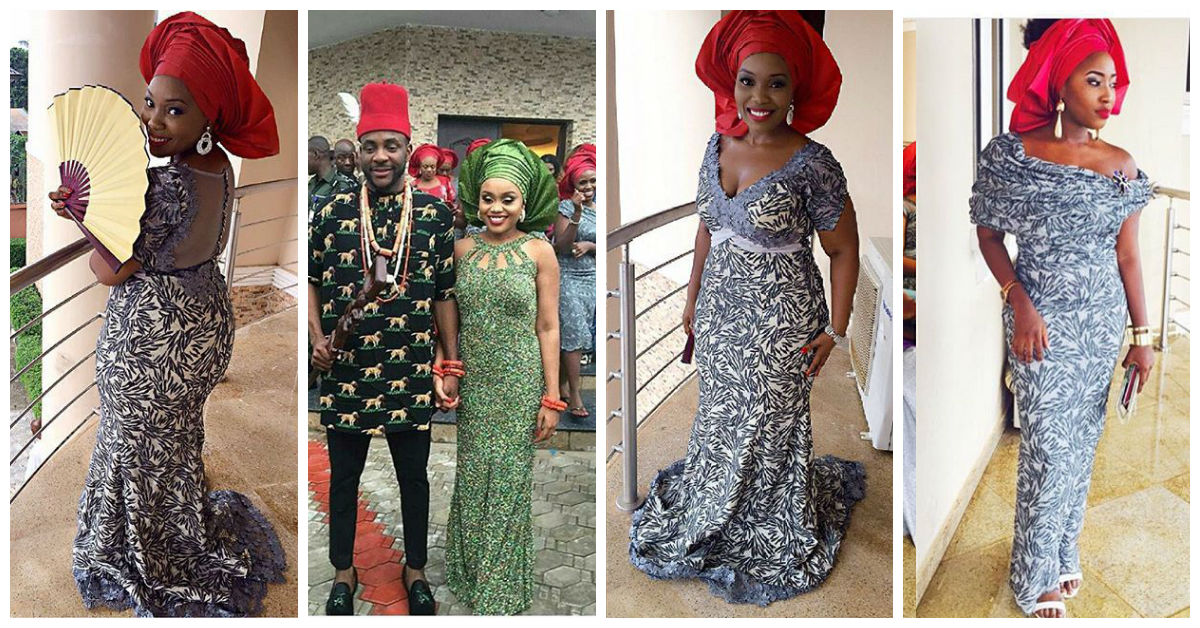 stunning aso ebi looks at ebuka obi uchendo tad wedding amillionstyles