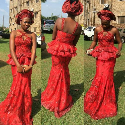 stunning Colorful Aso Ebi Styles amillionstyles.com @leculture