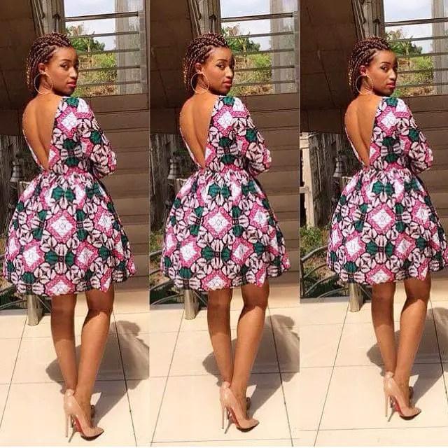 ankara short gown styles amillionstyles.com 1