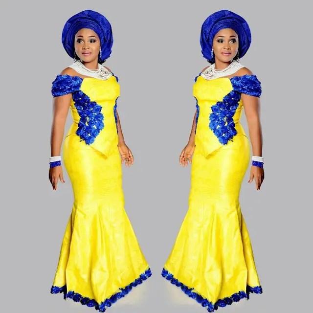 mercy aigbe ankara style amillionstyles.com 1