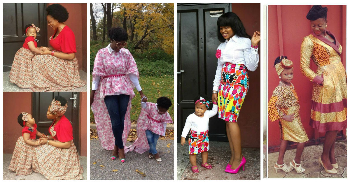 mother and daughter outfit amillionstyles.com cover