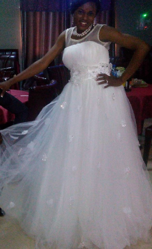 Nigerian Trending And Glamorous Wedding Dresses
