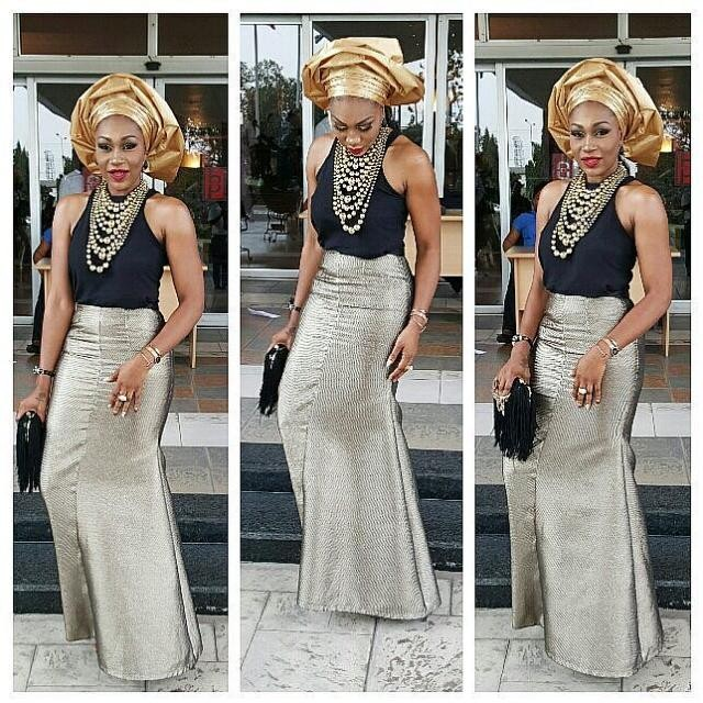 5 Stunning Nigerian Female Celebrity Style A Million