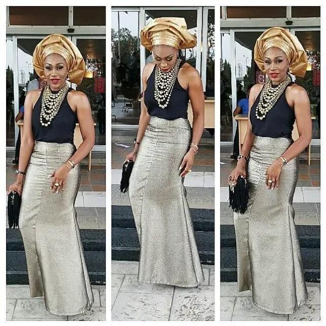Stunning Nigerian Female Celebrity Style amillionstyles @posheb
