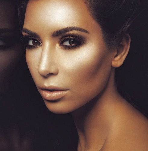 kim-kardashan-west-bronzer-look