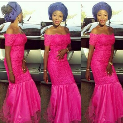 10 Latest Aso Ebi Styles - This Weekend amillionstyles.com @sisi_khloe