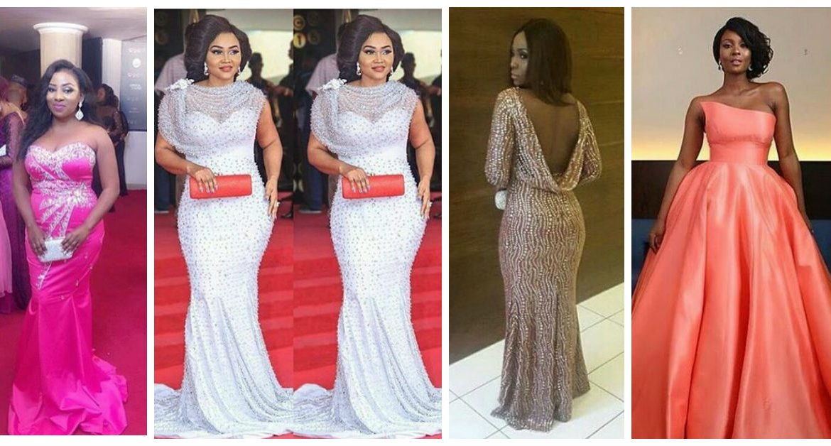 10 Jaw Dropping Celebrity Gown Styles amillionstyles.com