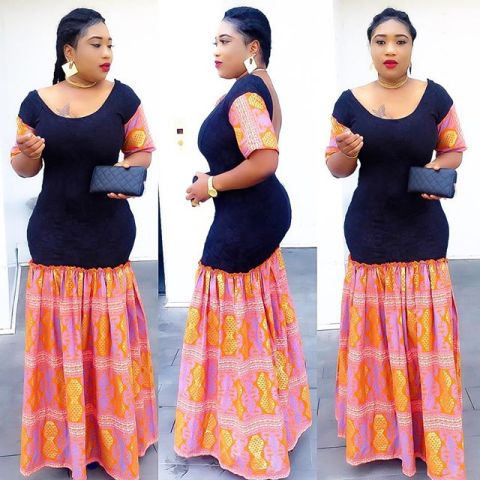 Extravagant Ankara Styles amillionstyles.com @sleek_ella