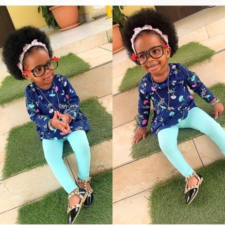 10 Adorable Kids In Their Awesome Outfit amillionstyles.com @princesswahnita