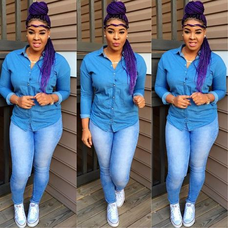 8 Eye Catching Denim Styles Amillionstyles.com @adunola