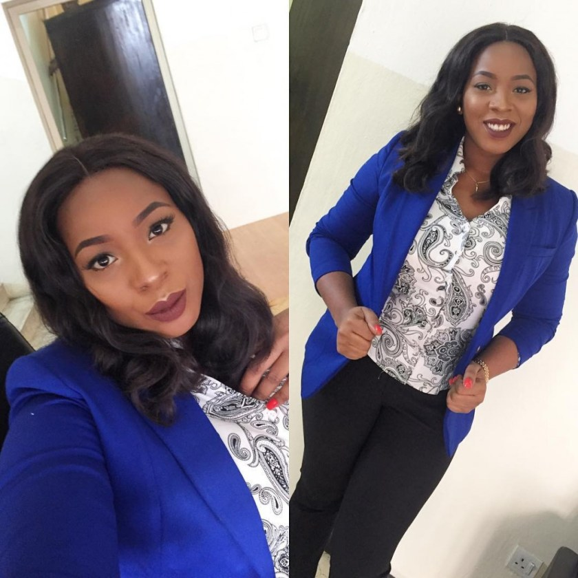 fabulous-corporate-outfits @miz_cindyy-, corporate outfits,Nigerian, fashionista, work place, dress, women fashion, business casual attires, professional dressing, corporate attires